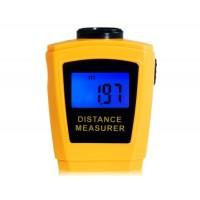 ср-3005 ЖК-дисплей ультразвуковой дальномер лазерный указатель (оранжевый)