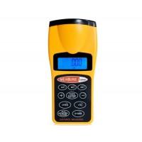 CP-3007 ЖК-дисплей Ультразвуковой дальномер лазерный указатель (оранжевый)