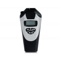 CP-3009 ЖК-дисплей Ультразвуковой дальномер лазерный указатель (черный)