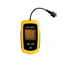 Визуальный Sonar 12м Проводной Красочные ЖК-дисплей Портативный эхолот (оранжевый)