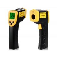 DT8380 Инфракрасный Ручной термометр (черный + оранжевый)