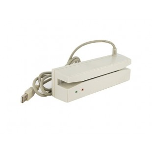 USB Магнитная карта Кредитная Card Reader (белый)