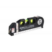 LV-03 Уровень Pro 3 Лазерная измерительная Метр / Линейка (черный)
