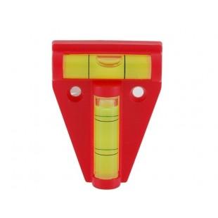 Двойной Двухместный Ось Духа Уровень градиометр камеры Горячий башмак (красный)