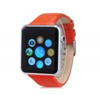 Д-контрольное значение 2 Смарт-часы-телефон со слотом для карты памяти, Bluetooth, Шагомер &амп; Спорт монитора (оранжевый+Белый)