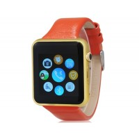 Д-контрольное значение 2 Смарт-часы-телефон со слотом для карты памяти, Bluetooth, Шагомер &амп; Спорт монитора (оранжевый+черный)