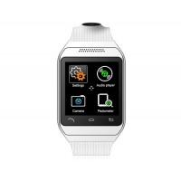 Купить дух про s19 bluetooth 3.0 смарт-смотреть телефон с SIM-карты слот, автоответчика, вызов набора, музыкальный проигрыватель и анти-потерянный (белый)