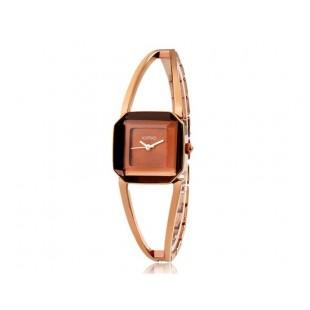 KIMIO 463 Женская Кварцевые аналоговые часы браслет (коричневый) модель YW0969X