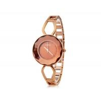 KIMIO 462 женщины`ы Кварцевые аналоговые часы Браслет (коричневый)