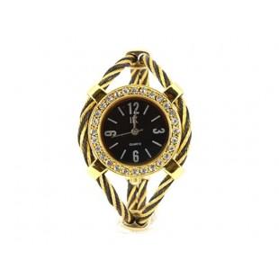 Женщины`ы Кварцевые наручные часы с бриллиантом украшения (Золотой) модель YW128Y