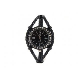 Женщины`ы Кварцевые наручные часы с алмазами украшения (черный) модель YW131B