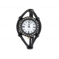 Купить Женская кварцевые наручные часы с отделкой Diamond (Белый)
