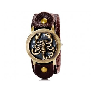 Модный Скорпион Оформлен Аналоговые Часы М. модель YW1364X