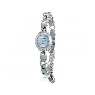 KIMIO 018 женщин`ы модная аналоговые часы с нержавеющей стали ремешком (синий) М. модель YW1855L