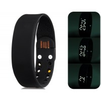 Купить Многофункциональный USB-считыватель смарт браслет с 3D шагомер & Monitor Sleep функций (черный)