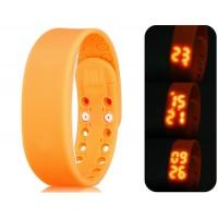 Многофункциональный USB Смарт браслет с 3D шагомер & Monitor сна функций (оранжевый)