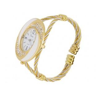 Браслет Аналоговые часы с Кристалл Украшения модель YWF78X