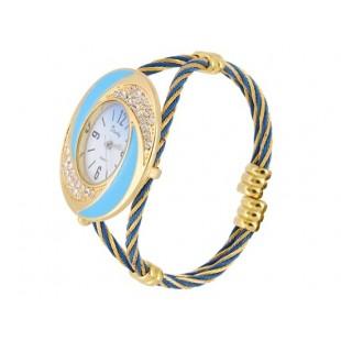 Браслет Аналоговые часы с Кристалл Украшения модель YWF79X