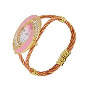 Браслет Аналоговые часы с Кристалл Украшения модель YWF80X