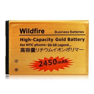 Li-ion 1400mAh  литий-ионный аккумулятор для HTC Wildfire/G6/G8/Legend