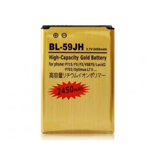 Li-ion BL-59JH 3,7 1800mAh литий-ионная аккумуляторная батарея с декодером чип для LG P715 / F5 / F3 / VS870 / Lucid2 / P703 / Optimus L7 II