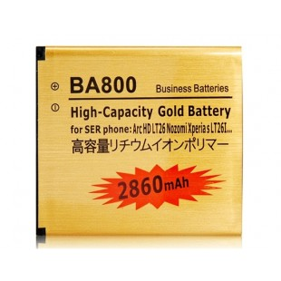 Li-ion BA800 1600mAh литий-ионный аккумулятор для Sony ArcHDLT26 Nozomi Xperia S LT26i