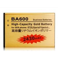 1300mAh  аккумулятор  Sony BA600 ST25L / Xperia / P.Xperia U
