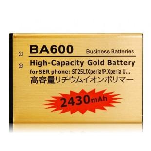 Li-ion 1300mAh литий-ионный аккумулятор для Sony BA600 ST25L / Xperia / P.Xperia U