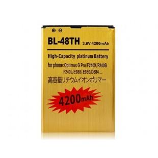 Li-ion BL-48-й 3.8V 2400mAh литий-ионная аккумуляторная батарея с декодером  для LG Optimus G Pro / F240K / F240S / F240L / E988 / E980 / D684
