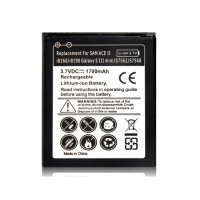Купить 3.7 V 1300mAh аккумулятор  Samsung Galaxy ACE 2 i8160/i8190 и  Galaxy S3 Mini/S7562/S7568