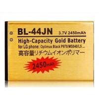 BL-44JN 3,7 1500mAh литий-ионная аккумуляторная батарея  LG Optimus Black P970 / MS840 / L5