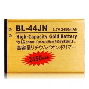 Li-ion BL-44JN 3,7 1500mAh литий-ионная аккумуляторная батарея для LG Optimus Black P970 / MS840 / L5