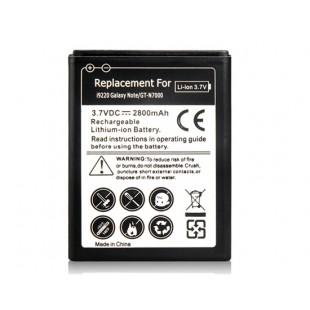 Li-ion 3,7 1800mAh литий-ионный аккумулятор для Samsung i9220 Galaxy Note / GT-N7000