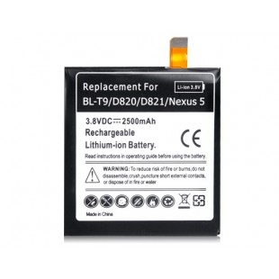 Li-ion 3.8V внутренняя батарея 2500mah для google nexus 5