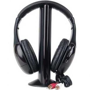 5 в 1 Hi-Fi Беспроводные наушники с микрофоном для радио, телевизора, компьютера