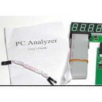 4 разрядный PCI ISA тестер PC Post Card с внешним дисплеем