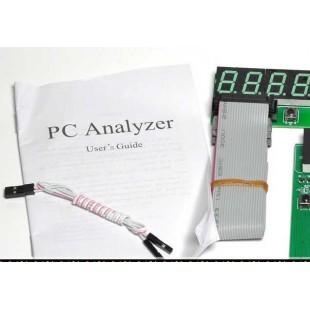 4 разрядный PCI ISA тестер PC Post Card с внешним дисплеем (post карта)