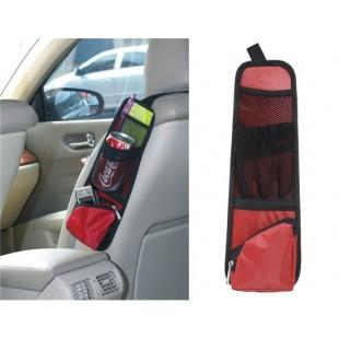 Карман на сиденье для вещей в автомобиль (красное)