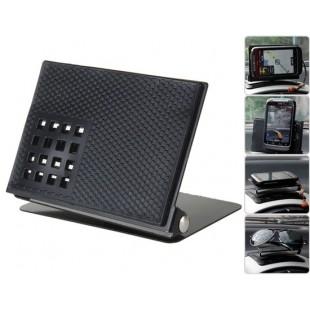 Металл мульти - скобка дизайн приборной панели анти - коврик (черный )