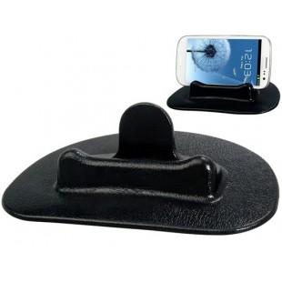 Hotitem портативный автомобильный GPS и телефонный держатель (черный)