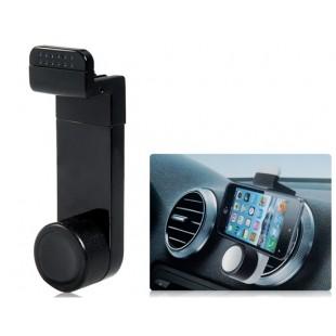 JHD-26HD67 портативный автомобильный  держатель для смартфонов от  3.5 до 6.3 дюймов (черный)