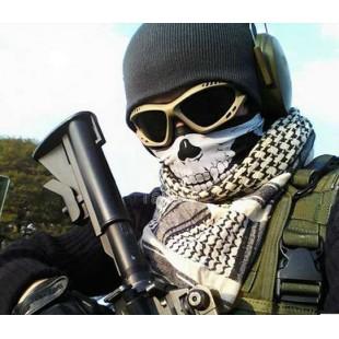 Ветрозащитная маска для спорта на открытом воздухе с черепом