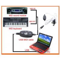 Купить USB MIDI-кабель МИДИ 2 метра