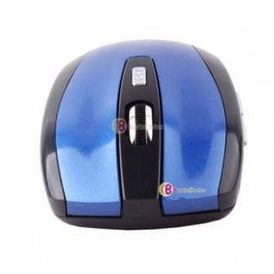 2.4GHz Wireless Optical Mouse Mice + USB 2.0 Receiver Adapter for Laptop PC Blue