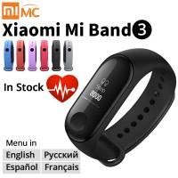 Оригинальный Xiaomi mi Band 3 умный Браслет фитнес-браслет mi Band 3