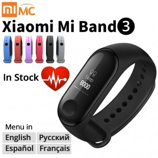 Оригинальный Фитнес-браслет Xiaomi Mi Band 3
