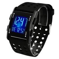 7 цветов цифровые водостойкие электронные часы