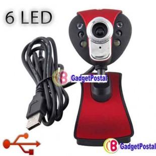 USB 2.0 6 LED 8 Mega вебкамера с микрофоном для  PC #21