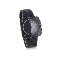 SINOBI Мужские часы с уникальным дизайном циферблата (черный)