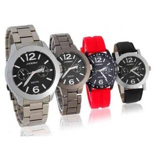 SINOBI Мужские часы с дополнительными ремешками для замены
